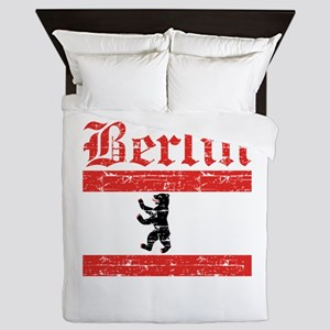 Flag Of Berlin Design Queen Duvet