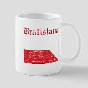 Flag Of Bratislava Design Mug