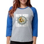 CLOCKSYMBALS Womens Baseball Tee