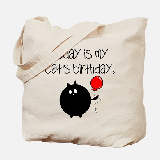 My Cats Bday Tote Bag