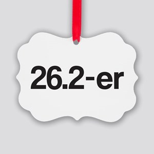 26.2-er or Marathoner Picture Ornament