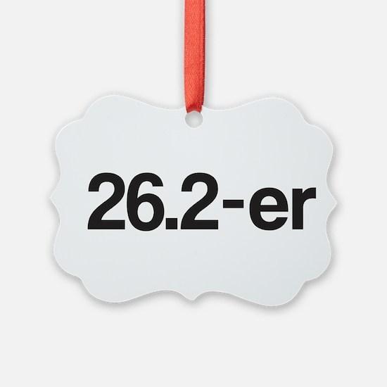 26.2-er or Marathoner Ornament