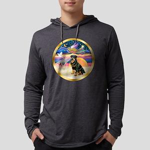 W-XmasStar-Rottweiler3-rev Mens Hooded Shirt