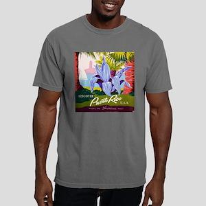 DiscoverPuertoRicoTile.p Mens Comfort Colors Shirt