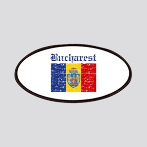 Flag Of Bucharest Design Patches