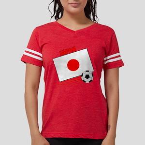japan soccer &ball  Womens Football Shirt