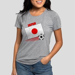 japan soccer &ball  Womens Tri-blend T-Shirt