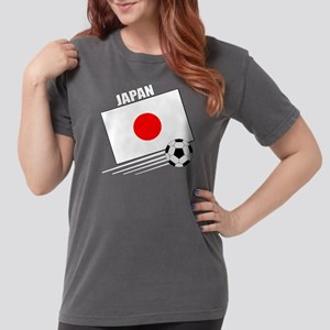 japan soccer &ball drk Womens Comfort Colors Shirt