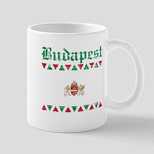 Flag Of Budapest Design Mug