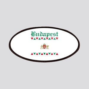 Flag Of Budapest Design Patches