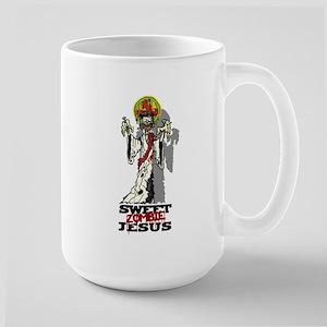 Sweet Zombie Jesus Large Mug