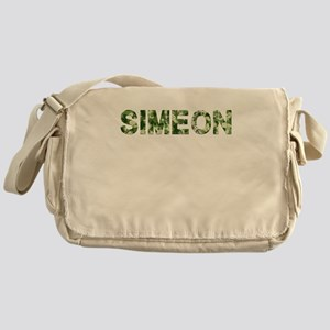 Simeon, Vintage Camo, Messenger Bag