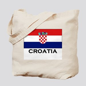 Croatia Flag Stuff Tote Bag