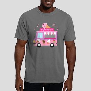 I love Ice Cream Truck Mens Comfort Colors Shirt