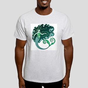 Winter Mermaid Ash Grey T-Shirt