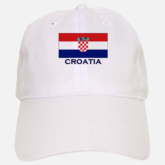 Croatia Flag Gear Baseball Baseball Cap