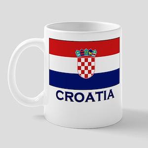 Croatia Flag Gear Mug