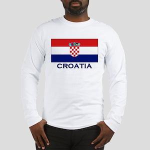 Croatia Flag Gear Long Sleeve T-Shirt