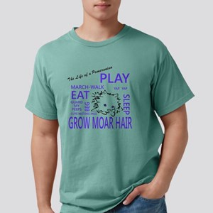 Life of a Pomeranian Mens Comfort Colors Shirt
