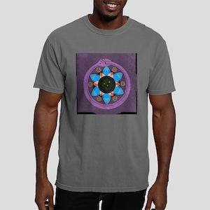 wallclock_mandala1a Mens Comfort Colors Shirt