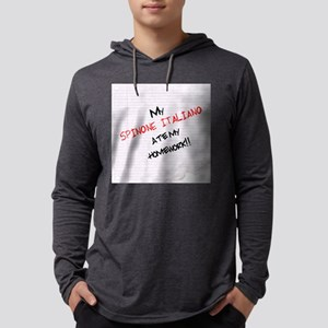 spinonehome Mens Hooded Shirt
