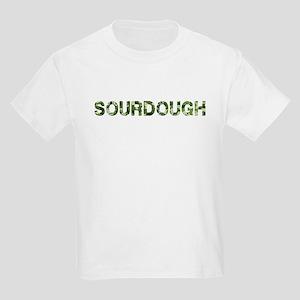 Sourdough, Vintage Camo, Kids Light T-Shirt