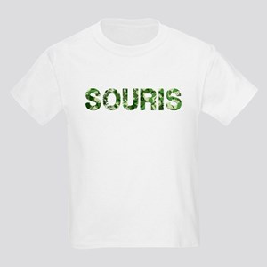 Souris, Vintage Camo, Kids Light T-Shirt