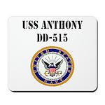 USS ANTHONY Mousepad