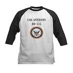 USS ANTHONY Kids Baseball Jersey