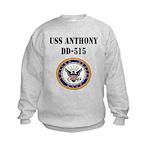 USS ANTHONY Kids Sweatshirt
