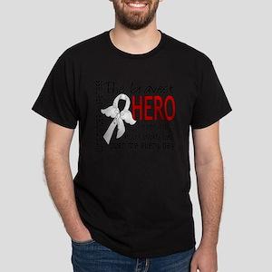 Bravest Hero I Knew Lung Cancer T-Shirt