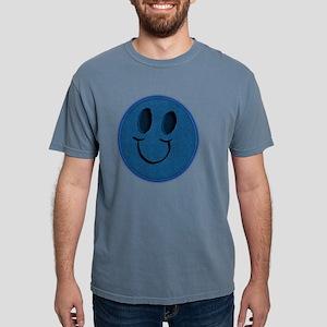 Blue Jeans Smiley Mens Comfort Colors Shirt