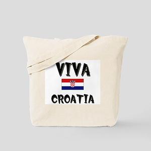 Viva Croatia Tote Bag