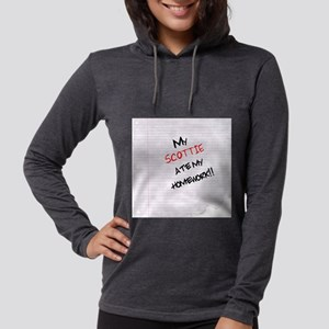 scottishterrierhome Womens Hooded Shirt