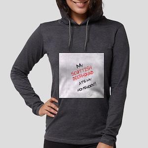 scottishdeerhome Womens Hooded Shirt