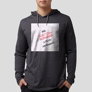 scottishdeerhome Mens Hooded Shirt