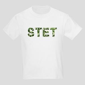 Stet, Vintage Camo, Kids Light T-Shirt