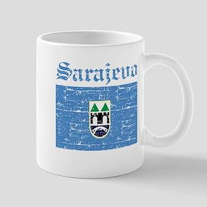 Flag Of Sarajevo Design Mug