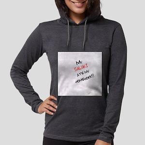 salukihome Womens Hooded Shirt