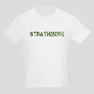 Strathmere, Vintage Camo, Kids Light T-Shirt