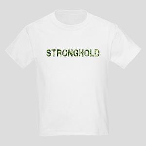 Stronghold, Vintage Camo, Kids Light T-Shirt