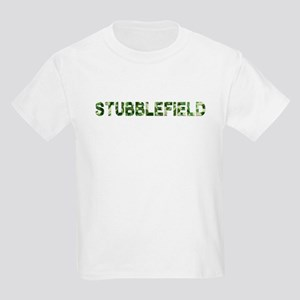 Stubblefield, Vintage Camo, Kids Light T-Shirt