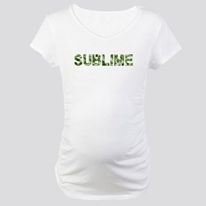 Sublime, Vintage Camo, Maternity T-Shirt