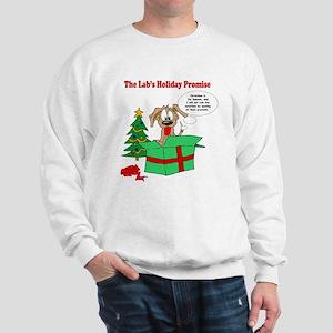 Lab Holiday Promise #1 Sweatshirt