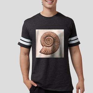 Perisphinctes ammonite, artwor Mens Football Shirt