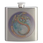 Magic Moon Dragon Flask