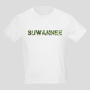 Suwannee, Vintage Camo, Kids Light T-Shirt