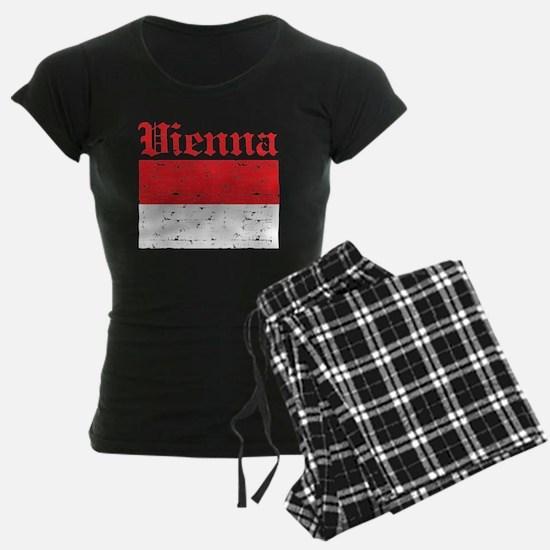 Flag Of Vienna Design Pajamas