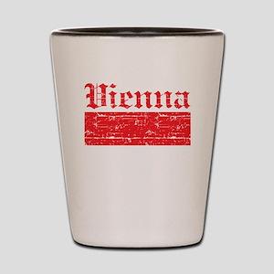 Flag Of Vienna Design Shot Glass