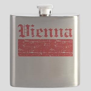 Flag Of Vienna Design Flask